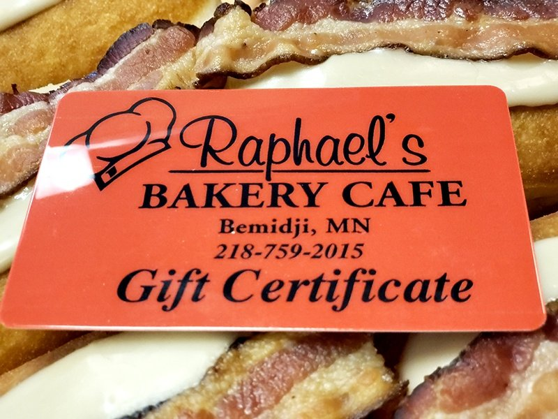 Raphael's Bakery Cafe Gift Cards